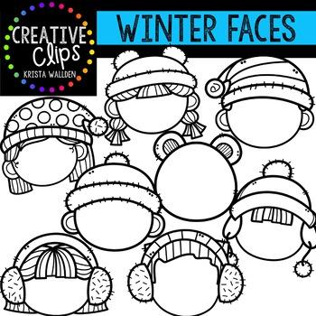 Winter Kids Template Teaching Resources