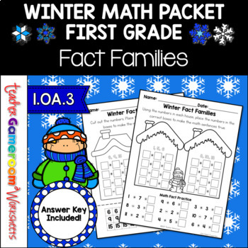 Winter Fact Families 1.OA.3