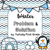 Winter Problem and Solution Task Cards
