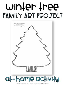 Winter Tree Family Art Project
