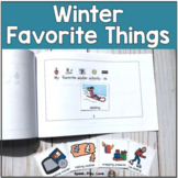 Winter Favorite Things Booklet with Visuals