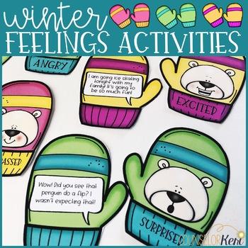 Winter Feelings Activities: Emotion Identification, I Feel Statements & More