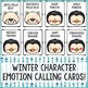 Winter Feelings Bingo Game - Emotions - School Counseling