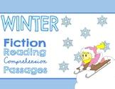 Winter Fiction Reading Comprehension Passages & Questions