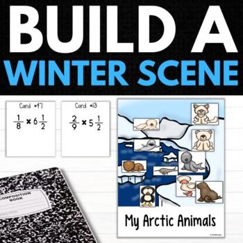 Winter Fifth Grade Math Puzzles