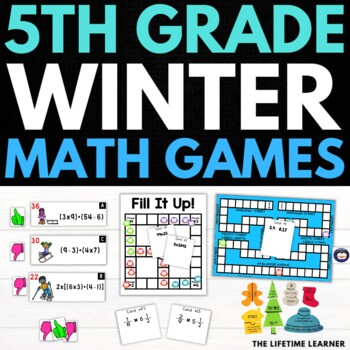 Winter 5th Grade Math Puzzles