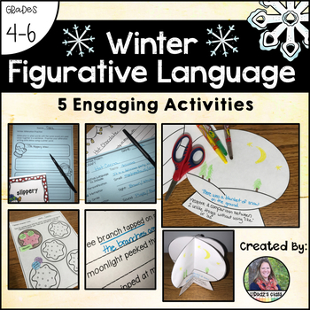 Winter Figurative Language: 5 Engaging Activities