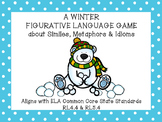 Winter Figurative Language Activity with Similes, Metaphor