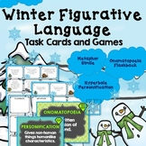 Figurative Language Games, Winter Theme, Creative Writing Projects