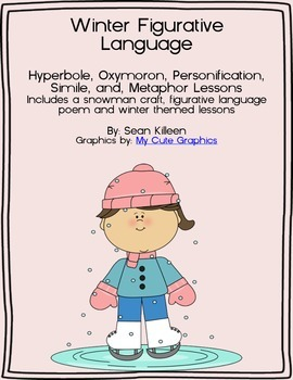 Winter Figurative Language Pack