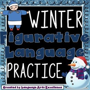 Winter Figurative Language Practice