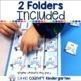 Ordinal Numbers: Winter File Folder