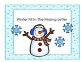 Winter Fill In The Missing Letter