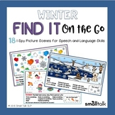 Winter Find It on the Go for Language + Teletherapy Version