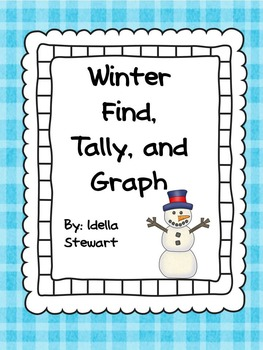 Winter: Find, Tally, and Graph