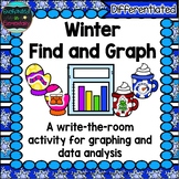 Winter Find and Graph: A Differentiated Math Center