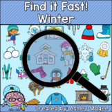 Winter Find it Fast Card Game