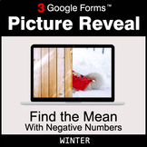Winter: Find the Mean with negative numbers - Google Forms