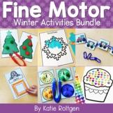 Winter Fine Motor Activities Bundle