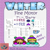 Winter Handwriting and Fine Motor Fun Pack