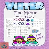 Winter Handwriting and Fine Motor Fun Pack