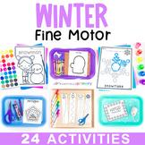 Winter Fine Motor | January Fine Motor Skill Activities | Preschool Theme