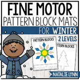 Winter Fine Motor: Pattern Block Pictures