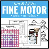 Winter Fine Motor Practice, Skills and Activities