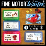 Winter Fine Motor Skills Task Boxes