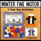 Winter Fine Motor Skills Task Boxes
