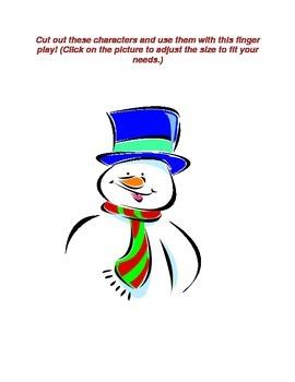 Winter Finger Play- Snowen