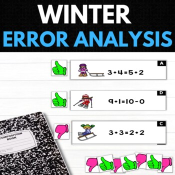 Winter 1st Grade Math Puzzles