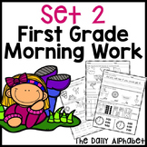First Grade Morning Work Set 2