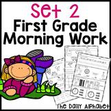 First Grade Morning Work Set 2