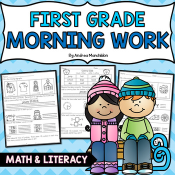 Winter Morning Work - First Grade