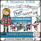 Winter Movement Song! Five Dancing Snowmen - Shared Reading with Activities