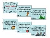 Winter Five Senses Haiku Book Project