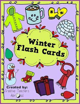 Winter Flash Cards