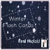 Winter Flash Cards - Real Photos!