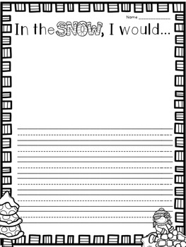 Winter: Flipchart and Worksheets