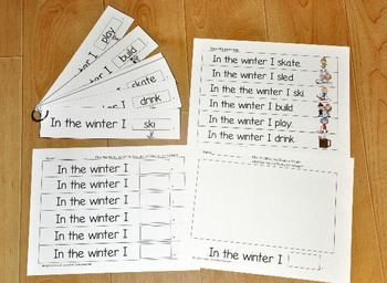 Winter Fluency Activities