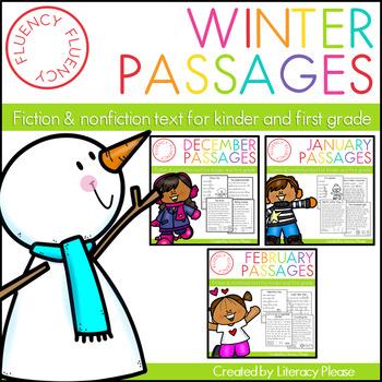 Winter Fluency Bundle (Differentiated)