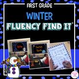 Winter Fluency Find It (1st Grade)