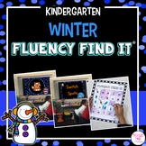 Winter Fluency Find It (Kindergarten)