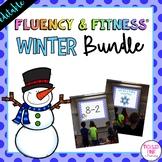 Winter Fluency & Fitness® {EDITABLE} Brain Breaks