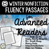 Fluency Passages, Winter Reading Passages, Reading Passages, Comprehension
