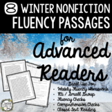 Fluency Passages, Winter Reading Passages, Reading Passage