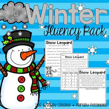 Winter Fluency Pack