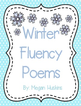 Winter Fluency Poems