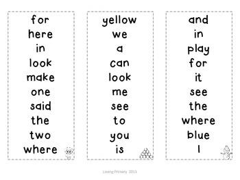 Winter Fluency Practice - Alphabet and Pre-Primer Words